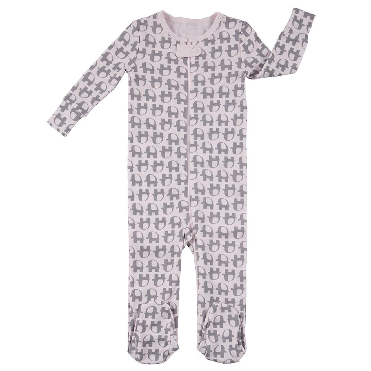 8a9ebd9fea16 Little Peanut Footed Sleepwear