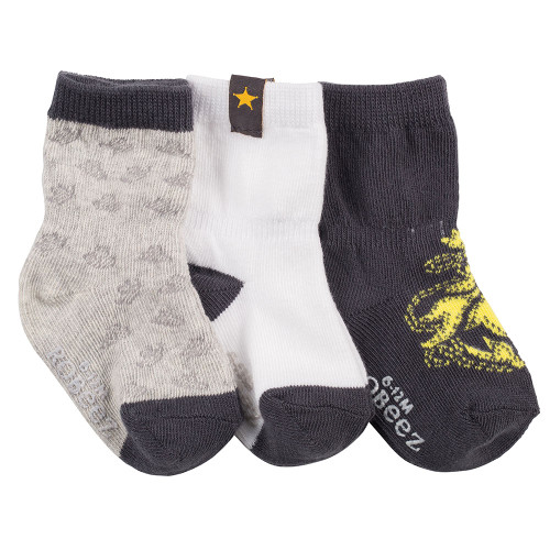 Robeez New Sheriff in Town Socks, 3-Pack