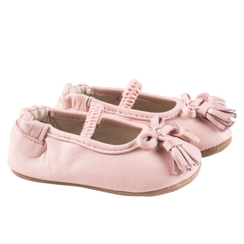 Robeez Pink Emily First Kicks - Angle