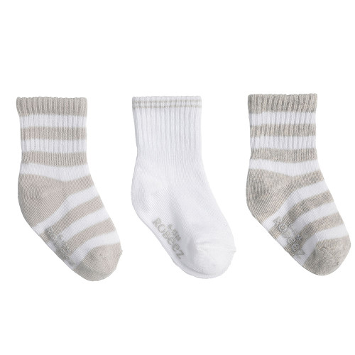 Robeez Daily Devin Socks, 3-Pack
