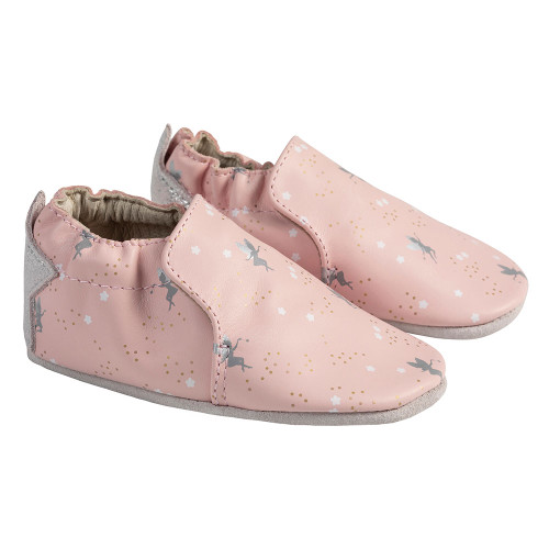 Angle - Robeez Pink Pixie Soft Soles