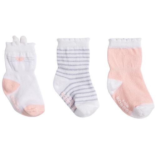 Robeez Bunny Socks, 3-Pack