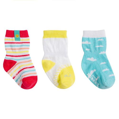 Robeez Sunny Skies Socks,  3-Pack