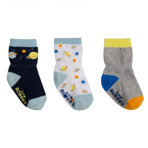 Robeez Cosmos Socks, 3-Pack