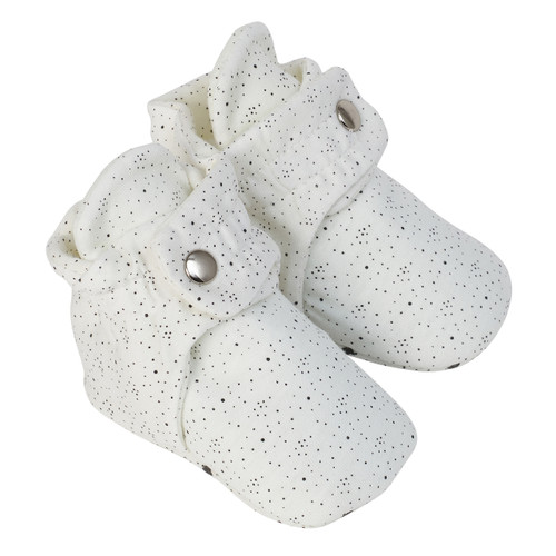 Robeez Speckled White
