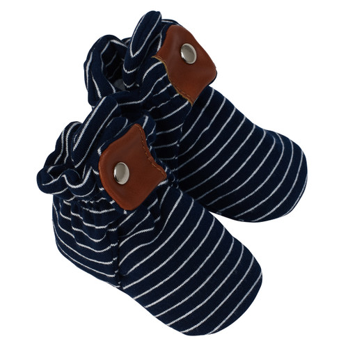 Robeez Navy Stripe