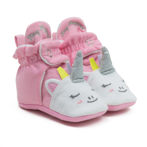 Robeez Unicorn - Light Pink