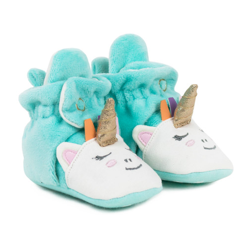 Magical Snap Booties Turquoise