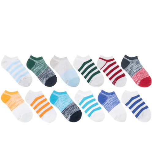 Free Run Stripes Boys 12-Pack Kids Socks