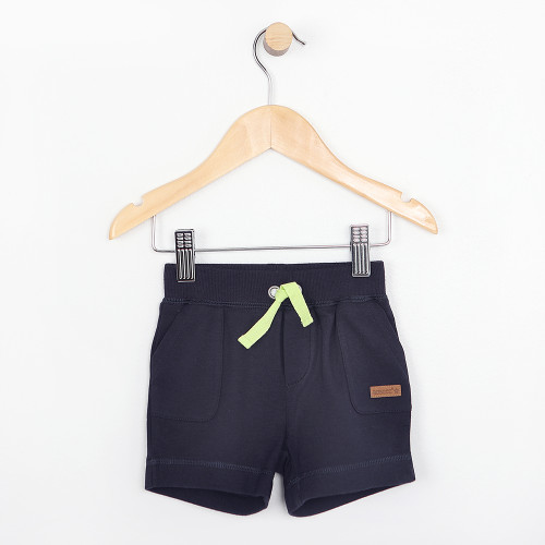 Navy shorts for infants and babies