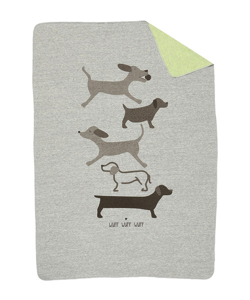 Cotton blanket for baby boys and girls.