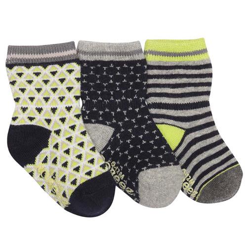 Robeez Geo Socks, 3-Pack