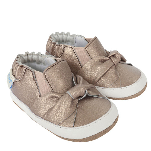 Robeez Bella's Bow Baby Shoes Mini Shoez - Angle