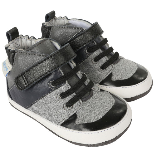 Robeez Zachary High Top Mini Shoez - Angle