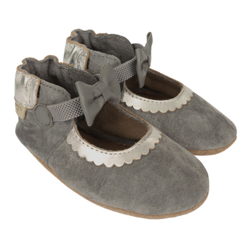 Robeez Keeping it Classy Mary Jane Soft Soles - Angle