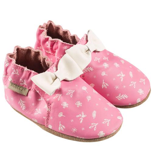 56ae126d5 On Sale! Francesca Floral Baby Shoes
