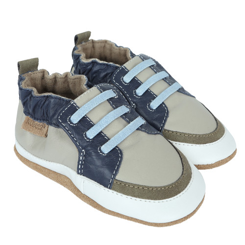 Robeez Trendy Trainer Arthur Soft Soles - Angle