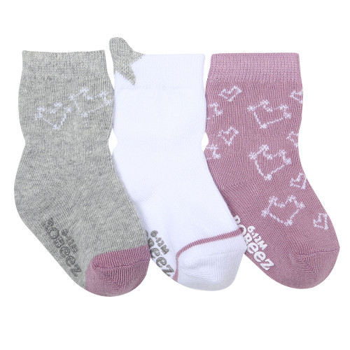 Dream Among the Stars Baby Socks, 3 Pack