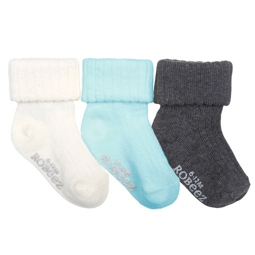 Basic Tabitha Baby Socks, 3 Pack