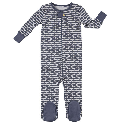 Robeez Fish Footed Sleeper - Front