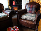 Restoring Vintage Leather Chairs with Furniture Treatment No. 5