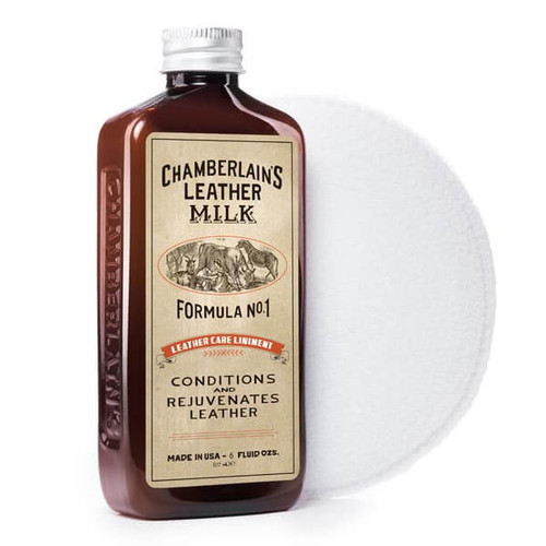 LEATHER CONDITIONER LINIMENT NO. 1 WITH APPLICATOR PAD