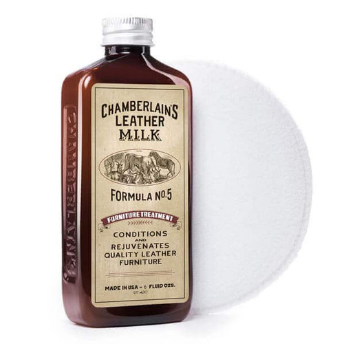 Furniture Treatment No. 5 - Premium Leather Furniture Conditioner with Applicator Pad