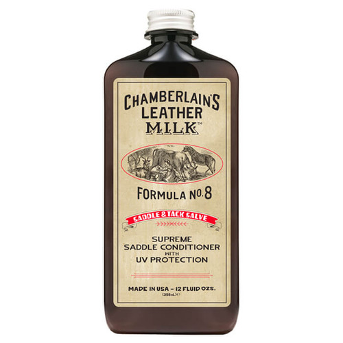 Saddle & Tack Salve Formula No. 8 - Premium Saddle & Tack Conditioner with Applicator Pad