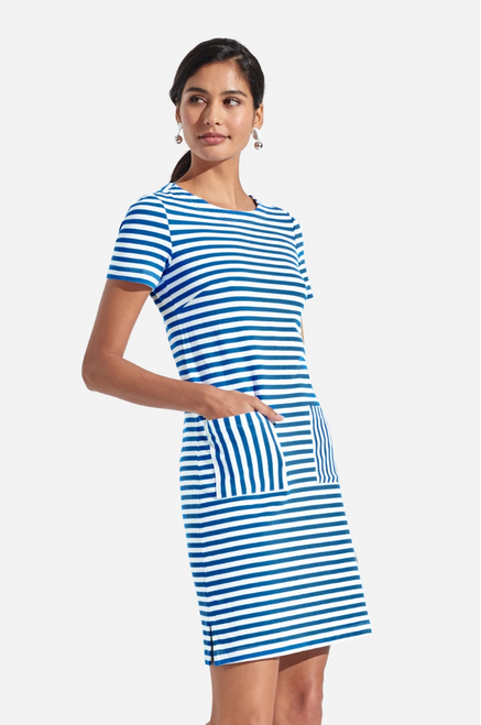Persifor Carter Cotton Dress Stripes