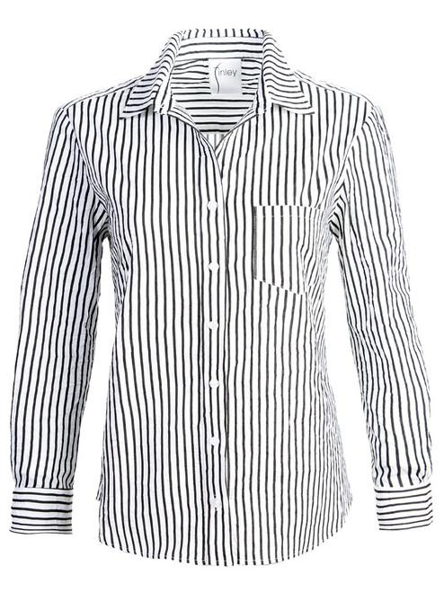 Alex Textured Stripe Shirt