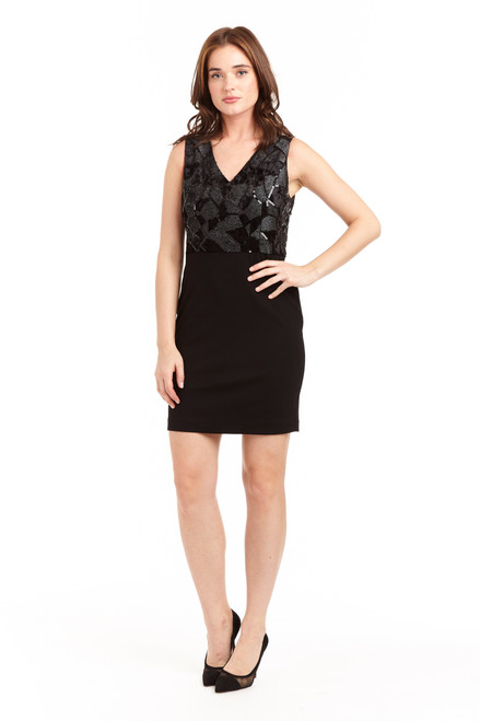 Drew clothing Lizzie dress in black