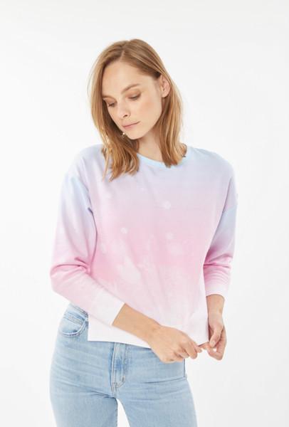Generation Love Aurora ombre sweatshirt