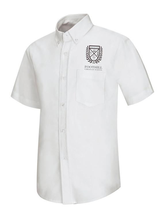 FCS White Oxford Shirt w/ Logo