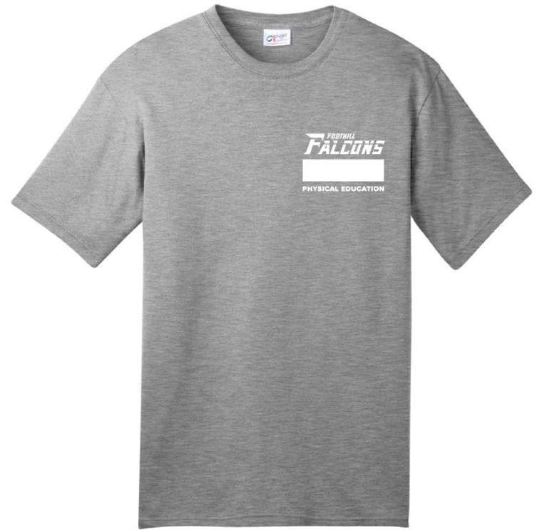 FCS PE T-Shirt w/ logo