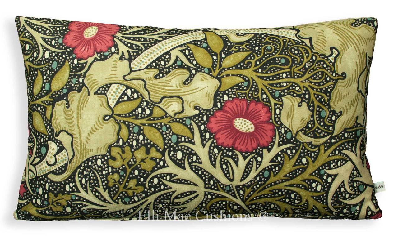 William Morris Seaweed Cushions
