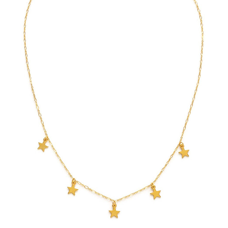 Five Stars Necklace $39
