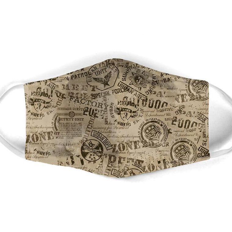Army Print Mask $15