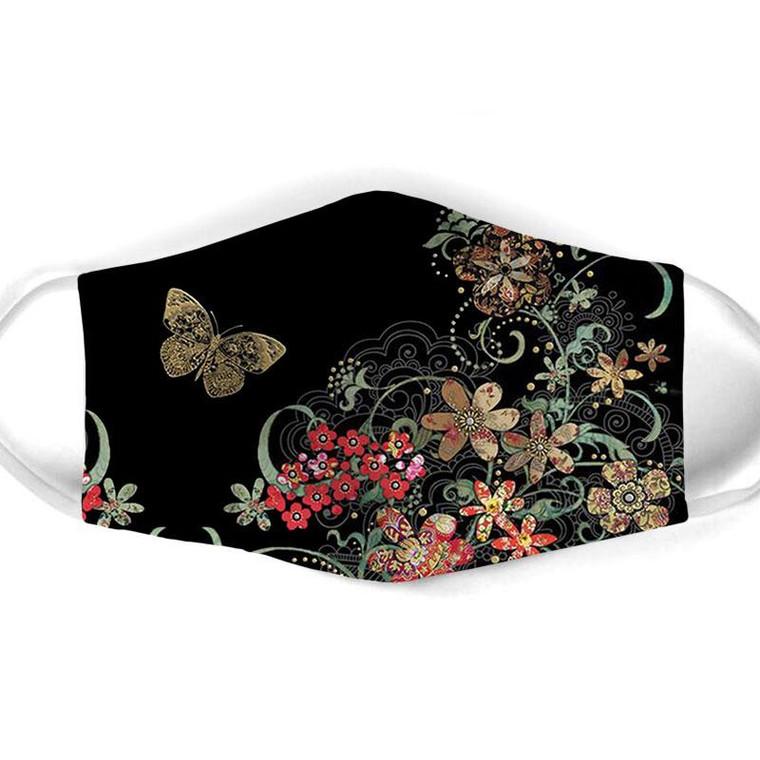 Kama Butterfly & Flower Mask $15