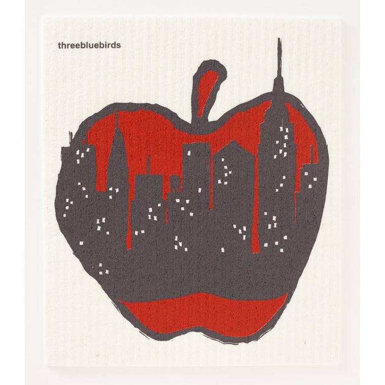 Big Apple Swedish Dishcloth