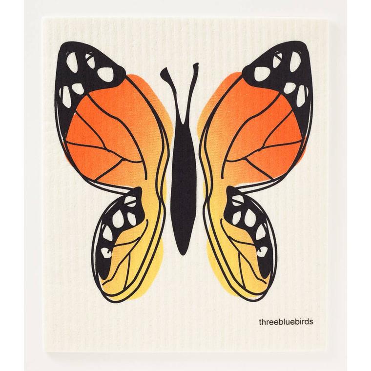 Butterfly Swedish Dishcloth