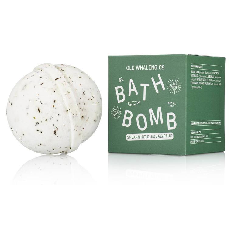 Spearmint + Eucalyptus Bath Bomb
