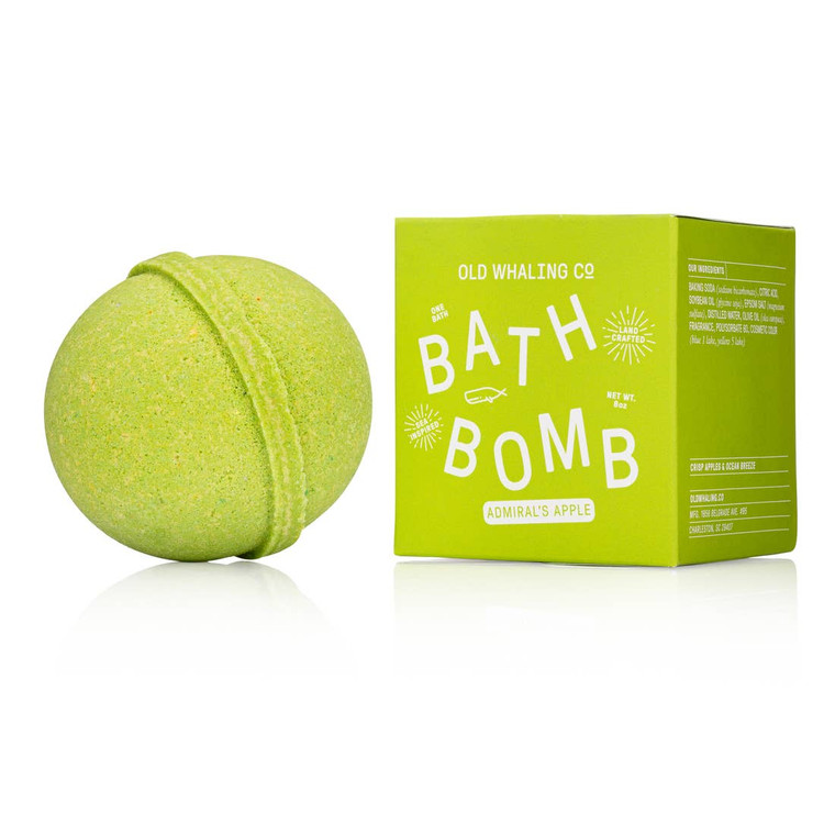 Admiral's Apple Bath Bomb