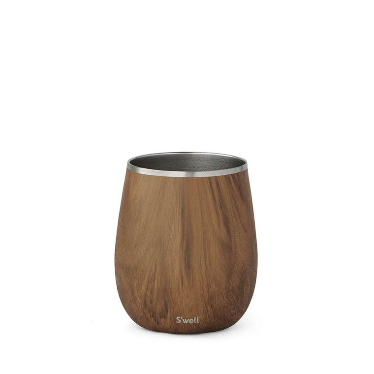 Our stemless and condensation-free Wine Tumbler keeps your favorite wine cool longer, wherever your plans may take you.  Stemless for comfortable indoor and outdoor use, storage and transportability.  Triple-layer insulation for thermal performance and condensation-free handling.  9oz tumbler matches standard white wine glass capacity.