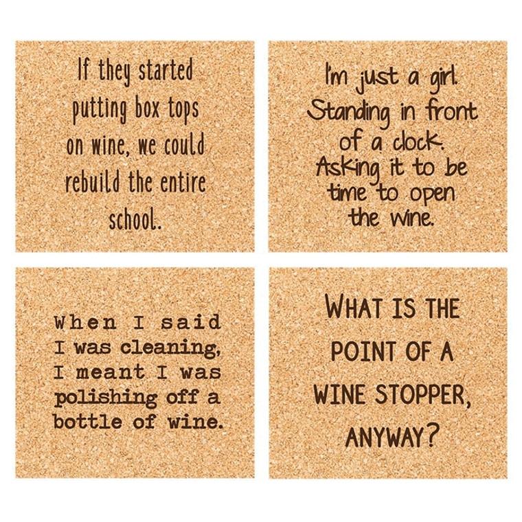 Wine-O Coaster Set