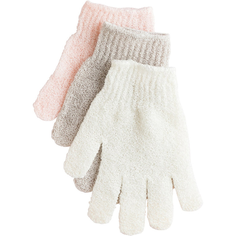 Use these exfoliating gloves dry before you shower or wet with soap in the shower for silky skin and removal of dead skin. If used daily exfoliating gloves can help improve circulation in the skin. Makes a great addition to a gift set or stocking stuffer. Create a spa in the comfort of your own home. A complete selection of natural bath and personal care products to enhance your 'private spa' moments. Use alone or with your favorite Urbana scent collection for a more comprehensive experience.