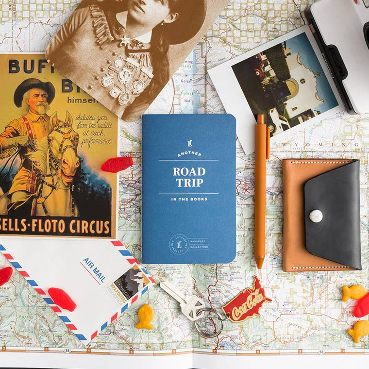 """Designed to capture and encourage experiences, each passport contains 20 entry logs with relevant form fields to help capture meaningful details of each theme-specific experience. Specs: acid-free 60lb text, stippled cover, foil stamped, center-sewn binding. Size: 3.5"""" x 5.5"""""""