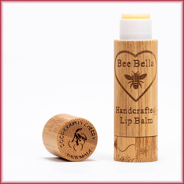 Have you ever enjoyed the unbridled pleasure of chocolate covered maraschino cherries? Well, Bee Bella has captured that hypnotic scent in our Door County Cherry Lip Balm. Careful though! This lip balm may cause your lips to be irresistible to your significant other!