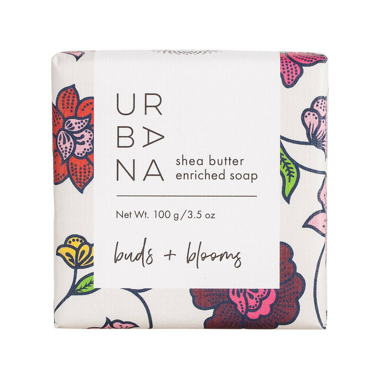 Buds + Blooms:Fresh and floral with cedar, rose, ylang ylang, musk and amber.