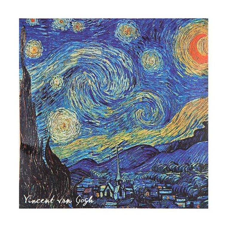Van Gogh Starry Night Sachet - Jasmine $5.99
