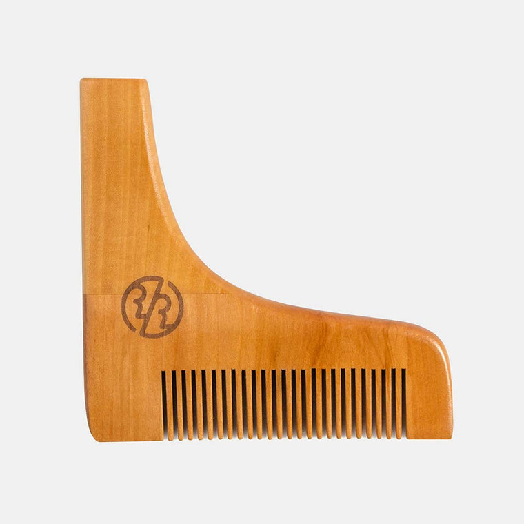 Ensures that even the burliest beards, big or small, can be trimmed, styled and tamed quickly effortlessly. The ultimate tool to shape and style your beard while trimming or shaving.